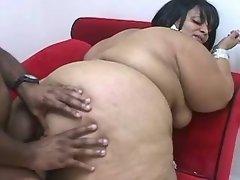 Adorable plump sweetie gets screwed