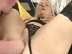 Ardent plum babe gets deep massage