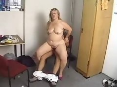 Chubby mature crazy fucked by guy